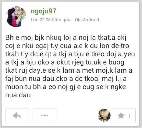 Kiểu viết tiếng Việt không dấu gây khó hiểu cho người đọc