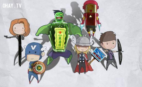 Biệt đội Siêu anh hùng Avengers phiên bản Việt Nam - gợi nhắc lại một thời bao cấp đã qua