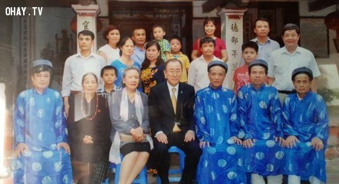 ảnh Ban Ki-moon,dòng họ phan huy