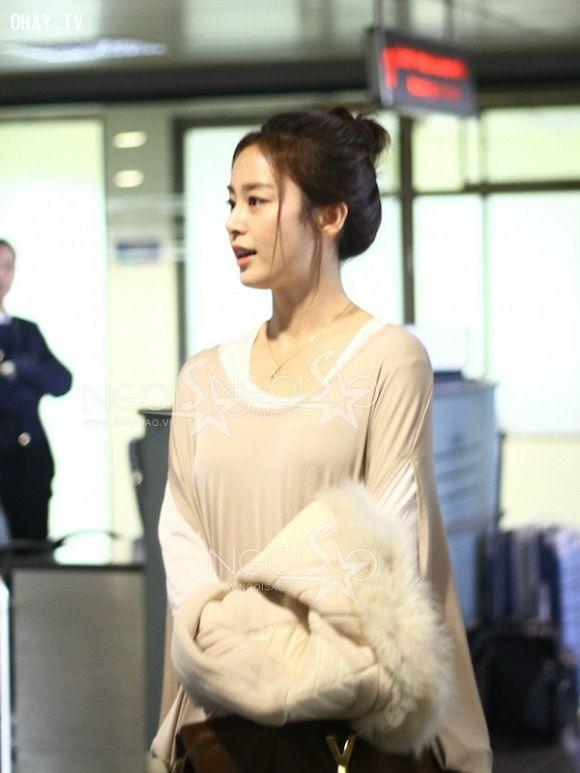 Kim Tae Hee sang Việt Nam tuyên truyền phim Công chúa của tôi
