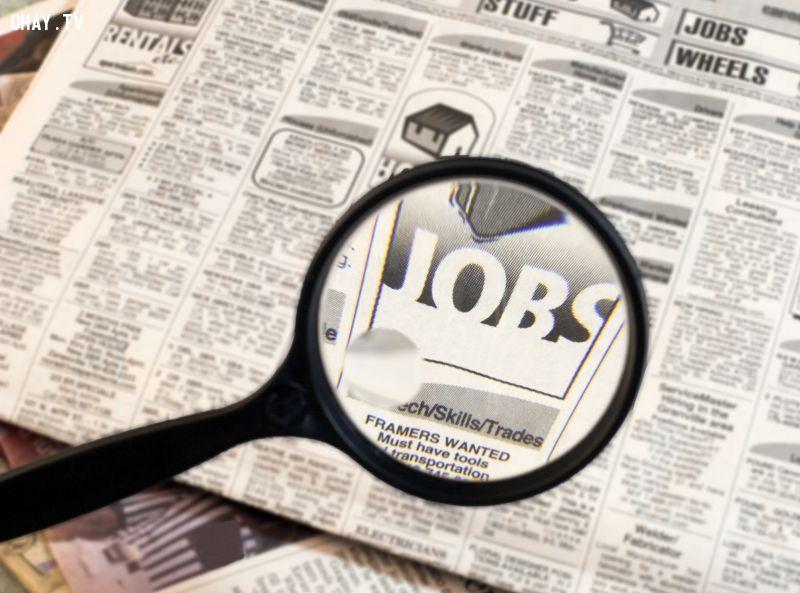 Tìm việc thì bạn mới hết thất nghiệp