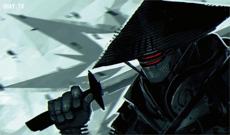 ảnh samurai,triết lý samurai,võ sĩ đạo,chiến binh