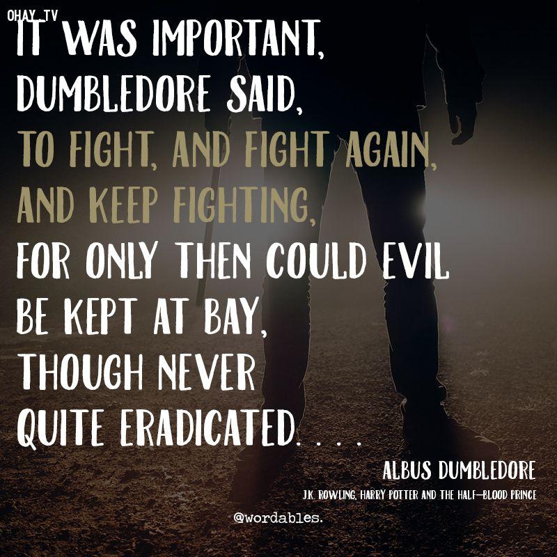 ảnh truyền cảm hứng,Albus Dumbledore,Harry Potter,triết lý sống,câu nói hay