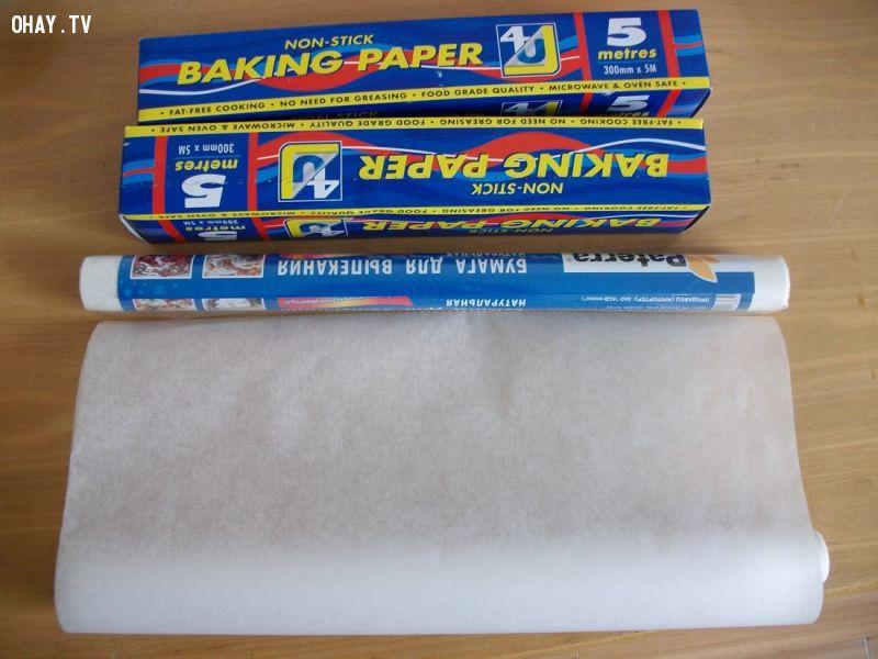 ảnh giấy nến,parchment paper,đồ dùng nấu ăn