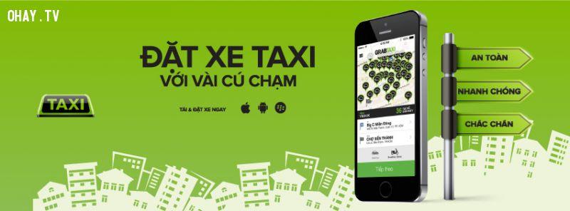 Ứng dụng đặt xe taxi trực tuyến