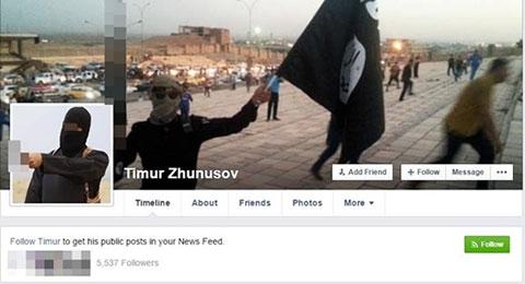 """Thực hư trang cá nhân của \""""tên khủng bố\"""" khiến cư dân mạng hoang mang"""