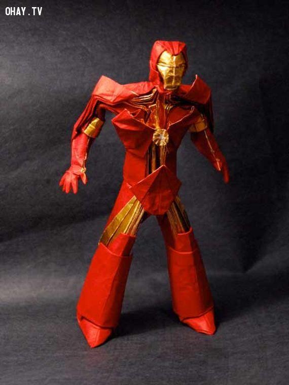 Iron man Origami
