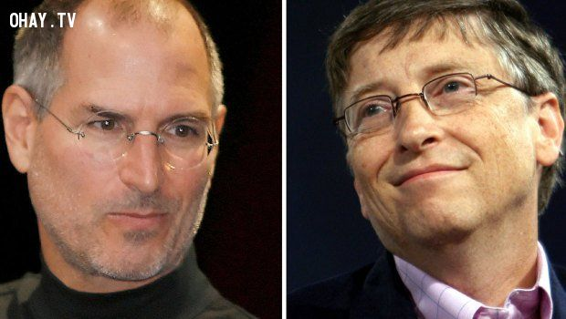 ảnh Steve Jobs,Bill Gates