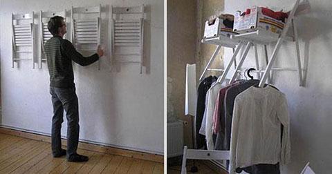 Cô ấy nghĩ chồng mình điên khi đóng ghế lên tường cho đến khi cô ấy thấy điều này