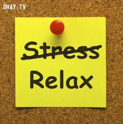 Stress ? No!