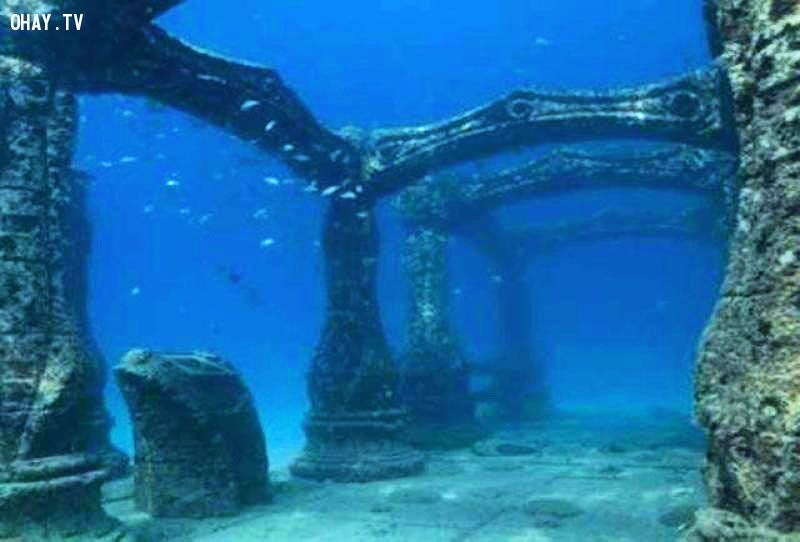 ảnh thành phố dưới biển,trong lòng đại dương,khám phá đại dương,dưới đáy biển