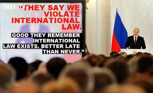 những câu nói bất hủ của Vladimir Putin, Vladimir Putin, tổng thống Nga, thủ tướng Nga, những câu nói bất hủ, chính trị