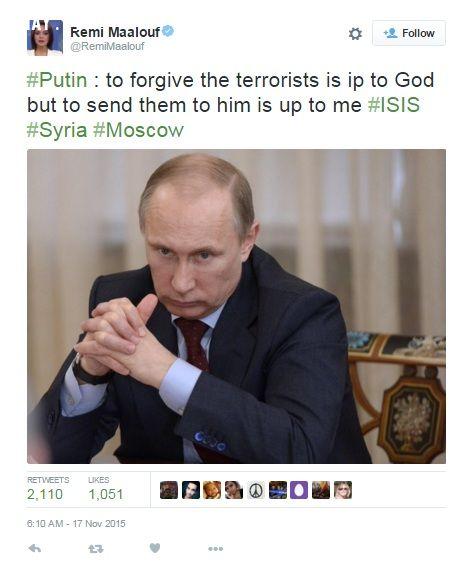 ảnh khủng bố,putin,câu nói của putin
