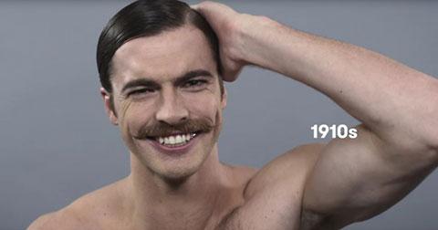 Tiêu chuẩn vẻ đẹp nam giới biến hóa thế nào trong 100 năm qua