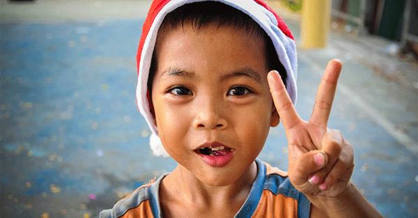 Người Thái rất coi trọng nụ cười trên khuôn mặt