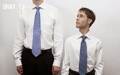 ảnh thân hình thấp bé,chiều cao khiêm tốn,người lùn