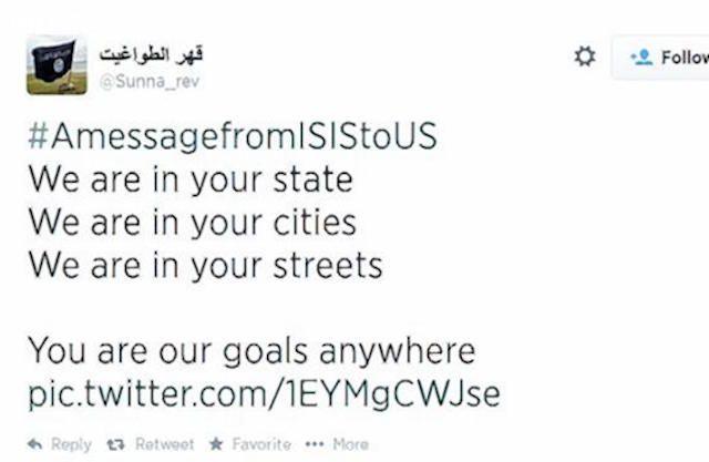 truyền thông xã hội của các lực lượng khủng bố