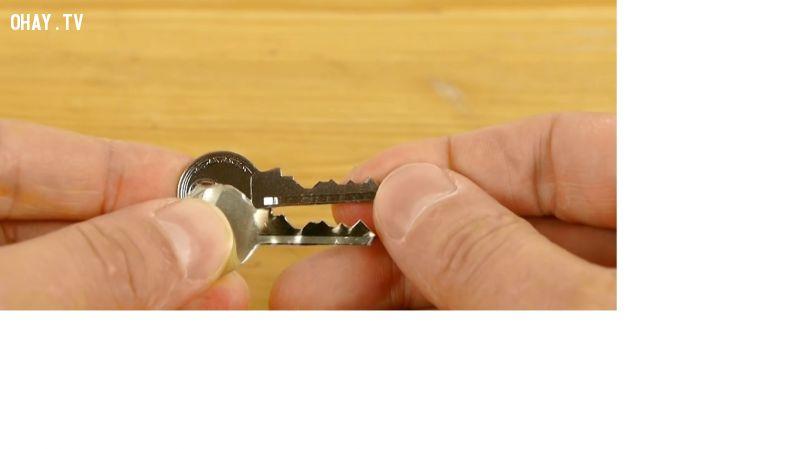 Chìa khóa mới làm giống hệt chìa khóa mới nhé!