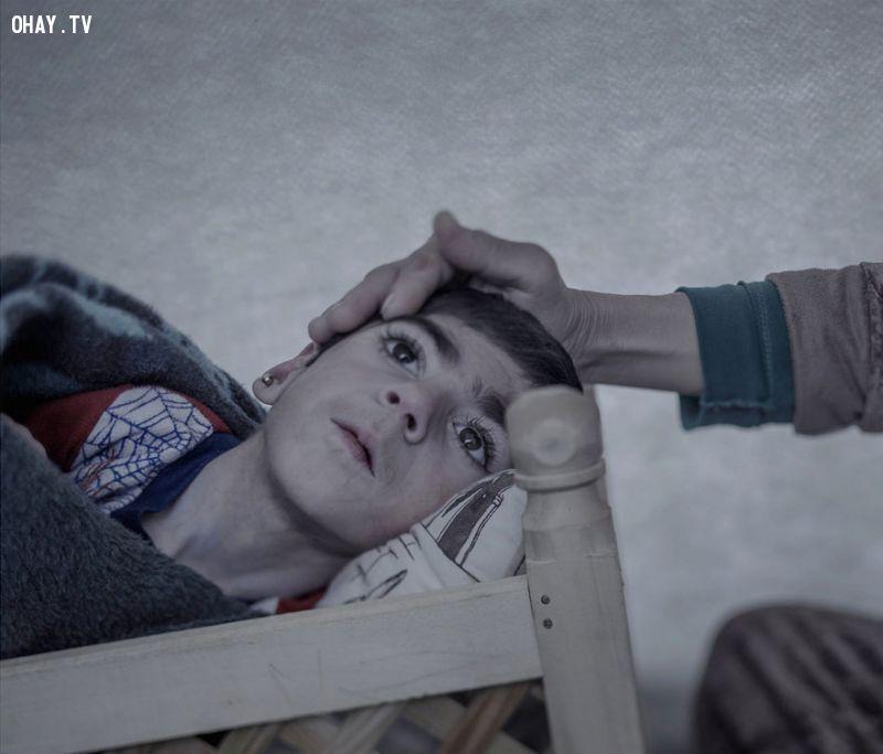 ảnh Syria,trẻ em,khủng bố,trẻ em syria,nơi trẻ em ngủ,Magnus Wennman
