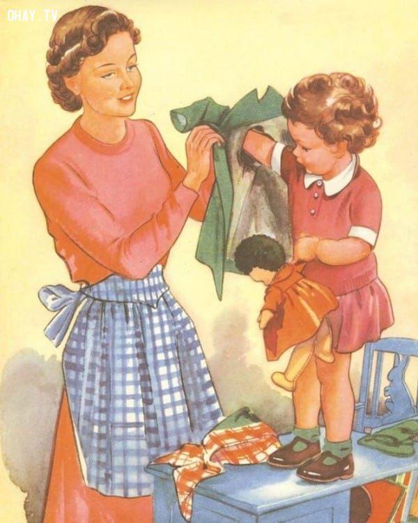 ảnh vợ hiền,phương Tây,truyền thống,tạp chí,Housekeeping,thập niên 50