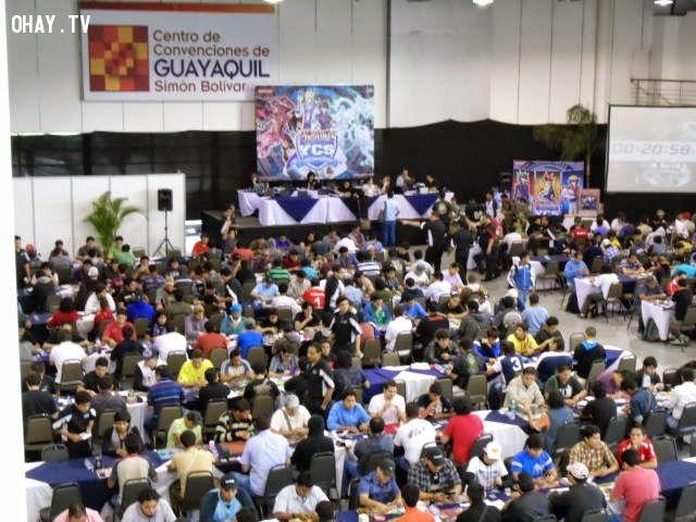Hình ảnh giải đấu Yu-Gi-Oh! quốc tế YCS
