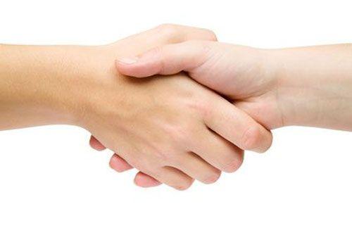 Cái bắt tay thân thiện