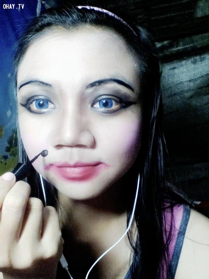 makeup gây bão