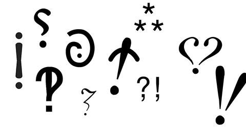 10 dấu câu kỳ lạ CÓ THẬT mà bạn chưa từng biết đến