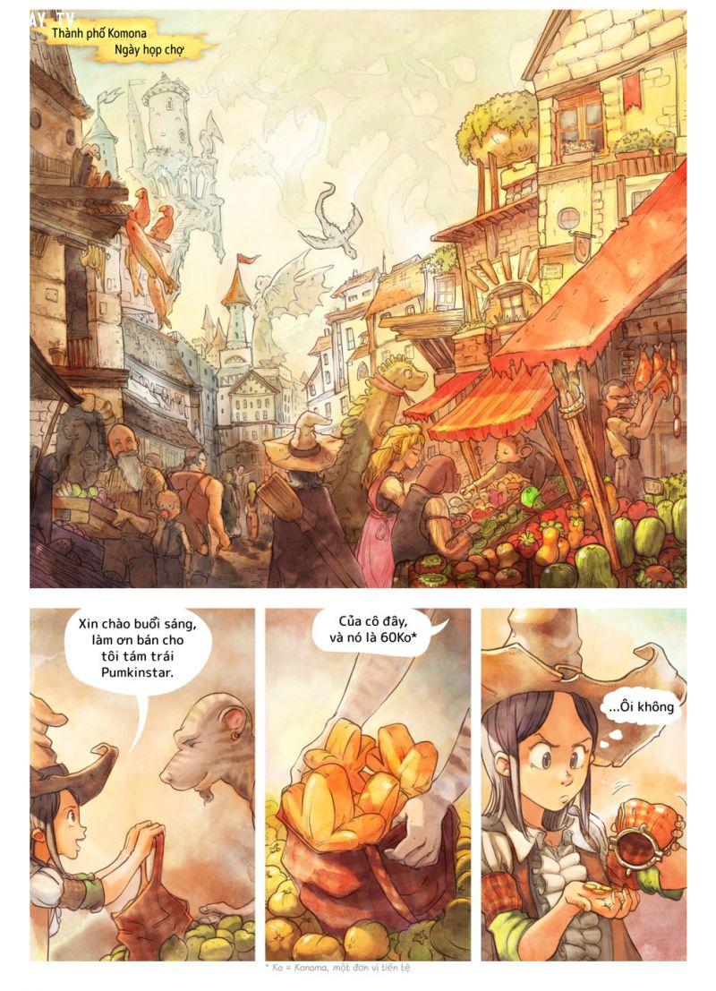 ảnh truyện tranh ngắn,truyện tranh,Hạt Tiêu và Cà Rốt