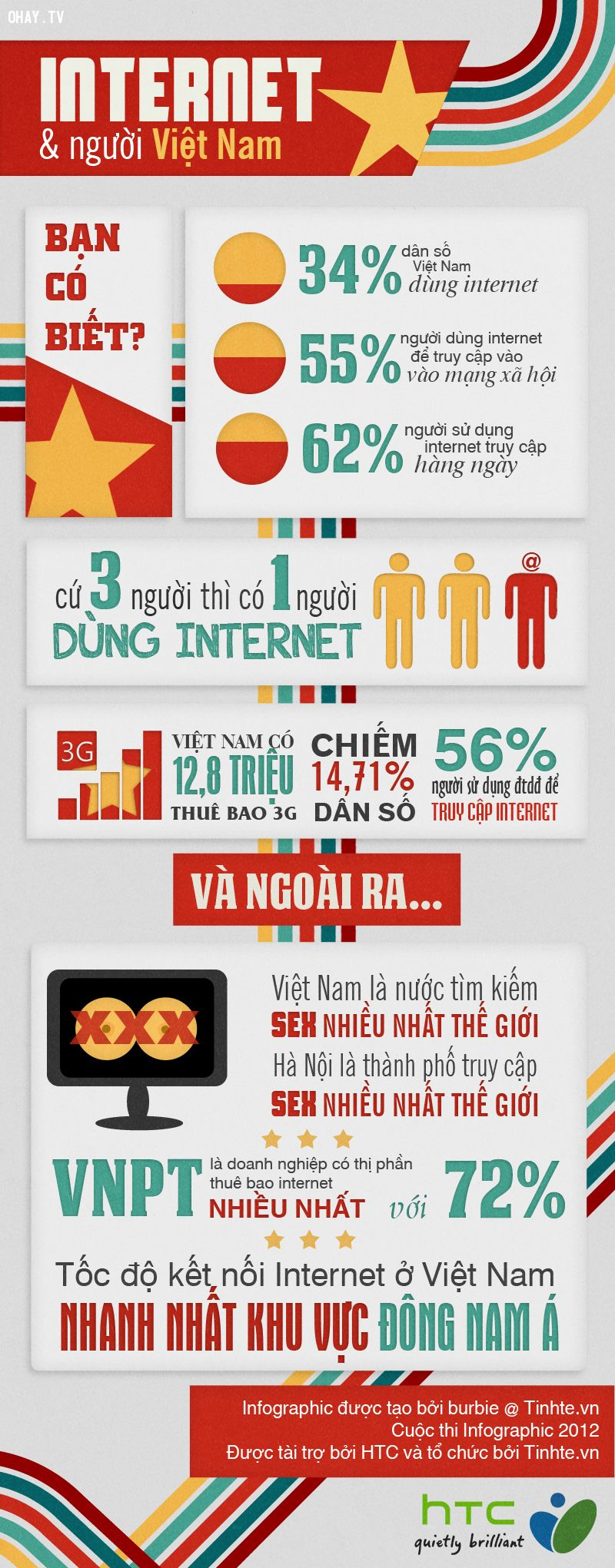 ảnh infographic,internet,internet việt nam