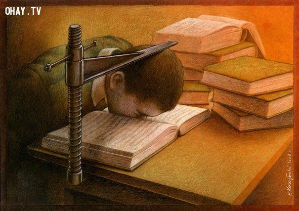 ảnh biếm họa,tranh biếm họa,suy ngẫm,hiện thực cuộc sống,biếm họa cuộc sống,hình biếm họa