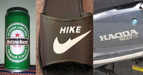 Top 12 sản phẩm chứng minh đam mê 'FAKE hàng' của Trung Quốc là vô đối