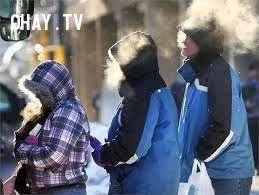 Thích thú vì mùa đông thở ra khói nhé