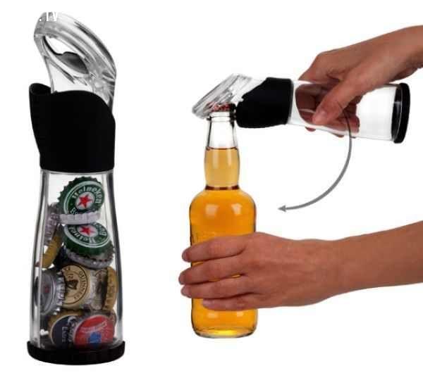 Mở nắp chai