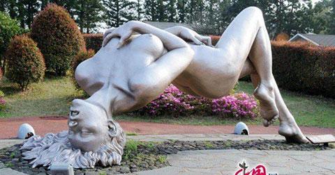 Đứng hình trước Jeju Love Land - Công viên tình dục có 102 ở Hàn Quốc