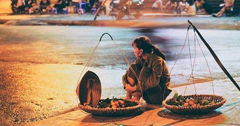 """Những gánh hàng rong - \""""Hồn quê\"""" giữa lòng Hà Nội"""