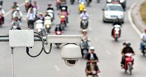 Các nút giao thông lắp camera phạt nguội tại Hà Nội