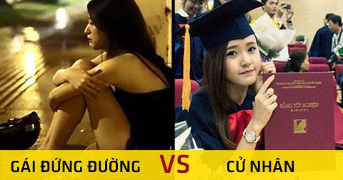 Cử nhân đại học và gái đứng đường - So găng 5 hiệp ai thắng?