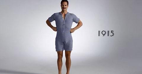 Bộ sưu tập thời trang đi biển của các chàng trai trong 100 năm qua