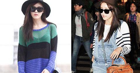 3 vật dụng làm nên phong cách thời trang sân bay cực cool của sao Hàn