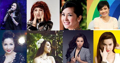 Top 10 nữ ca sĩ hàng đầu Việt Nam