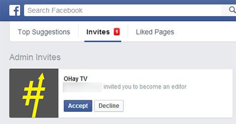Không thêm admin mới cho Facebook Fanpage được - Cách giải quyết