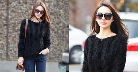 Áo len – Item ruột không thể thiếu của mùa Đông