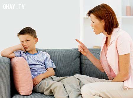 ảnh bất đồng quan điểm,bố mẹ luôn đúng
