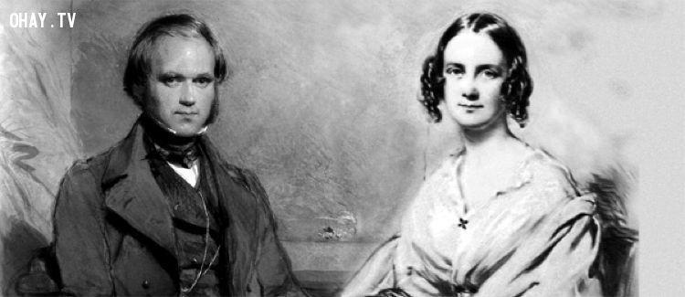 ảnh Charles Darwin,quan hệ loạn luân,John Phillips,King Tut,Habsburg,Barbara Daly Baekeland