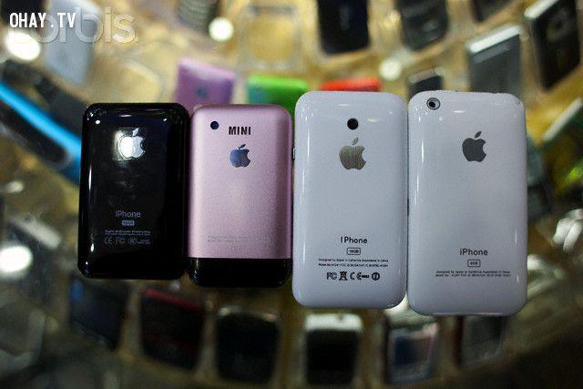 Hàng nhái Apple tại Trung Quốc