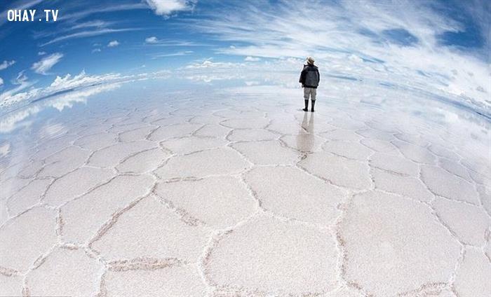 Những địa điểm trên Trái Đất nhưng lại giống như ở hành tinh khác