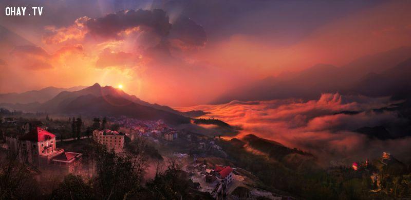 Núi Hàm Rồng lọt top những nơi ngắm hoàng hôn đẹp nhât thế giới