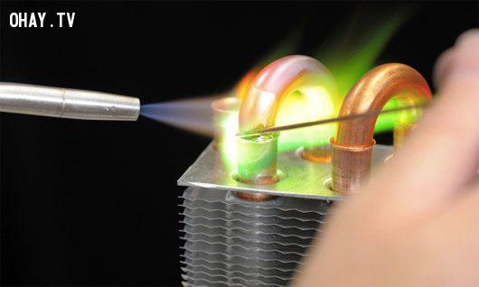 ảnh biến nước thành lửa,khoa học đời sống,tạo lửa