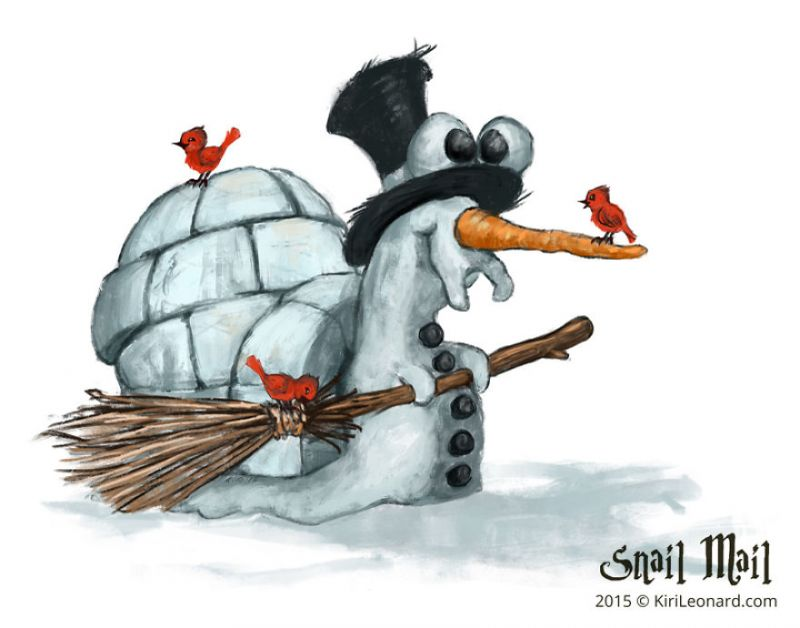 Bạn thích ốc sên Olag cho dịp Noel